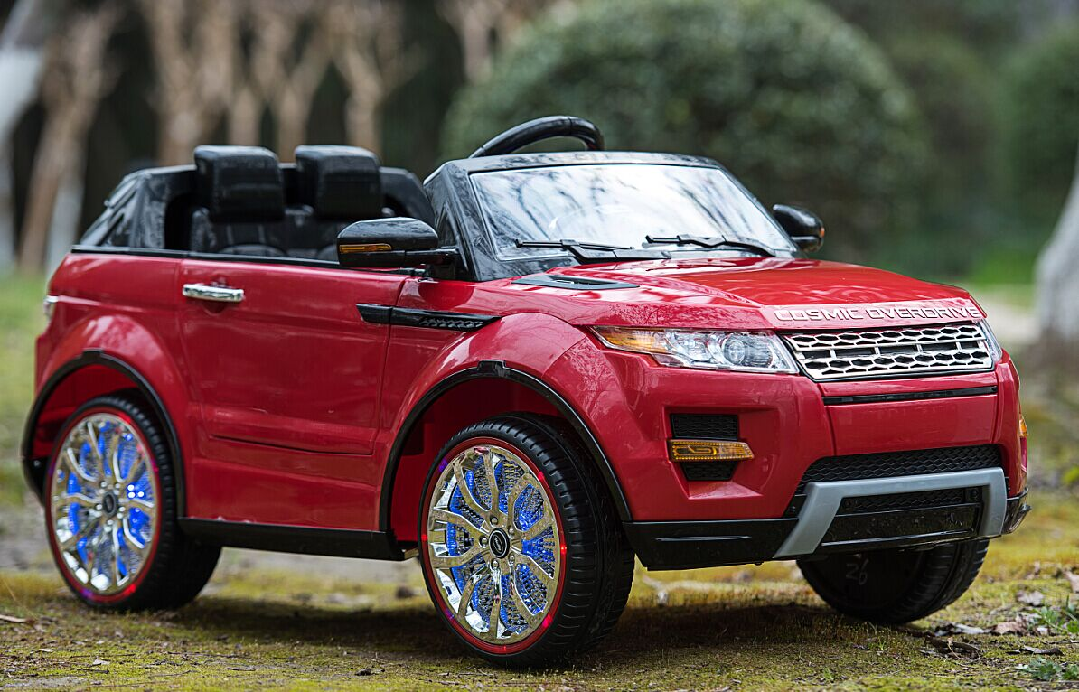 Kids Ride On Cars: Land Rover Style Kids Ride On Car 12V With Remote Control