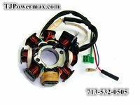 Magneto Stator Ignition Generator 8 Poles Coils GY6 Motorcycle Scooter Moped 125cc 150cc
