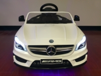 New Mercedes Kids Ride On Car 12V with Remote Control and Led Wheel