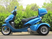 PST150-7  Trike Moped Bike 150cc Touring Gas Motor Scooter