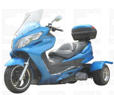 Pst150 C Trike Moped Motor Bike 150cc Touring Gas Motor