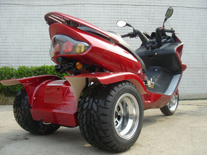 pst150 h trike moped motor bike 150cc touring gas motor scooters. Black Bedroom Furniture Sets. Home Design Ideas
