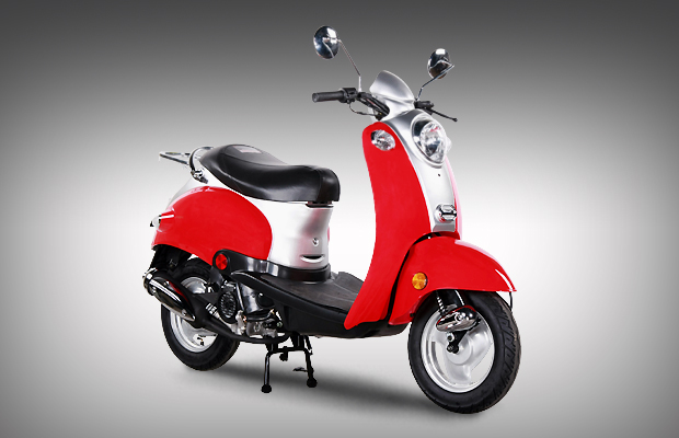SL50QT-5  Vespa   4-Stroke 50cc Street Legal Gas moped scooter