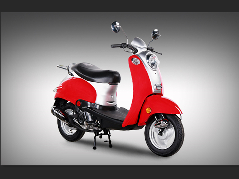 sl50qt 5 vespa 4 stroke 50cc street legal gas moped scooter. Black Bedroom Furniture Sets. Home Design Ideas