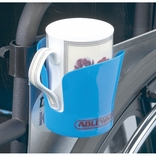 Ableware 706220001 Wheelchair Plastic Cup Holder