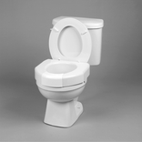 Ableware 725790001 Elevated Toilet Seat w/ Closed Front Option