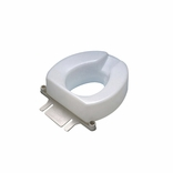Ableware 725831006 6 Inch Contoured Tall-Ette Elevated Toilet Seat