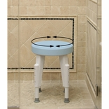 Ableware 727152100 Rotating Round Shower Stool