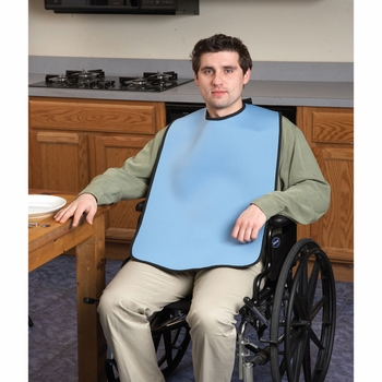 Ableware 746960001 Light Blue Clothing Protector