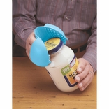 Ableware 753590001 Hot Hand Protector and Jar Opener - Sky Blue