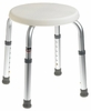 Carex Adjustable Round Shower Stool