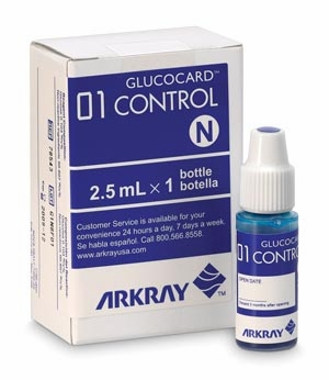 Control Solution, 1 Bottle Normal, 1 Bottle High, CLIA Waived