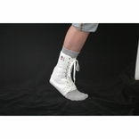 Core 6310 Lace-Up Ankle Support-White-Large