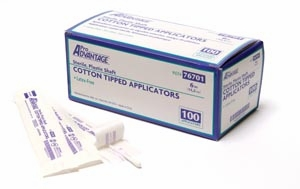 Cotton-Tipped Applicator, 6