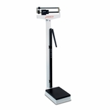 Detecto 439 Eye Level Physician Mechanical Beam Scale with Height Rod
