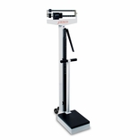 Detecto 448 Mechanical Scale w/ Height Rod, Wheels and Hand Post