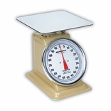 Detecto T100 (T-100) Top Loading Lge Dial Scale w/ Enamel Finish