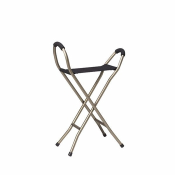 Drive Medical Lightweight Cane with Sling Seat