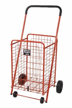 Drive Medical Winnie Wagon All Purpose Cart in Red