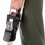 EZ-Access Universal Crutch Carryon Pouch Bag