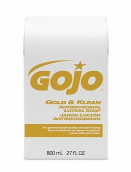 Gold & Klean Antimicrobial Lotion Soap, 12/cs