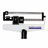 HealthOMeter 402LBWH (Health O Meter 402LB and Wheels) Physician Balance Beam Scale