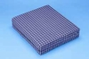 Hermell Foam Wheelchair Cushion with Plaid Zippered Cover 16 in.x 18 in. x 4 in.