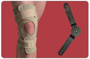 Knee Brace  Open Wrap Range of Motion  Extra Large