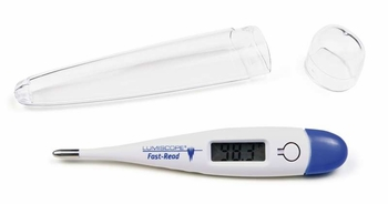 Lumiscope 2210 Quick Read Dual Scale Digital Thermometer