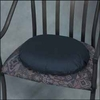 Mabis Dmi 14 in. Molded Ring Cushion, Navy Cover
