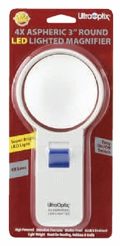 Magnifier Lighted 3  Round