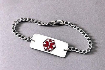 Medical Identification Jewelry-Bracelet- Diabetic