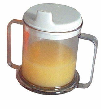 Mug Double-Handed with Lid