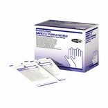 SafeSkin 55091 Purple Nitrile Sterile Exam Gloves-SM PF BX/50