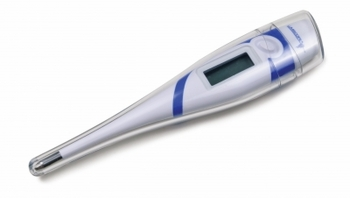 Graham Field Soft, Quick Read, Flexible Tip Digital Thermometer, Lumiscope