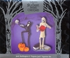 Applause Nightmare Before Christmas Jack Skellington & Pajama Jack Figurine Set