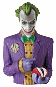 Arkham Asylum The Joker Bust Coin Bank