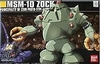 Bandai HGUC MSM-10 Zock 1/144 Scale Model Kit