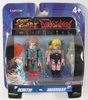 Capcom Street Fighter II Demitri v Darkstalkers Morrigan Minimates Set