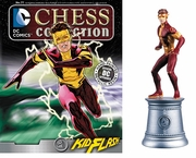 DC Chess Collection White Knight Kid Flash Magazine #77