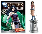 DC Chess Collection White Queen Wonder Woman Magazine #34