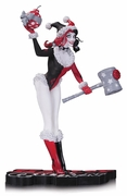 DC Collectibles Harley Quinn Red, Black & White Holiday Statue