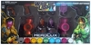 DC Heroclix War of Light Red and Violet Lantern Corps Power Batteries