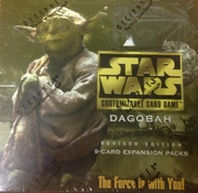 Star Wars CCG Dagobah Revised 9-Card Expansion Booster Box