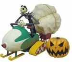 Disney's Nightmare Before Christmas Remote Control Snow Mobile