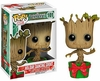 Funko Marvel Pop Heroes Vinyl 101 Guardians of the Galaxy Holiday Dancing Groot Figure