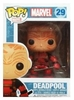 Funko Marvel Pop Heroes Vinyl 29 Unmasked Deadpool Figure