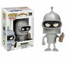 Funko Pop Animation Vinyl Futurama Bender Figure