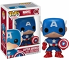 Funko Marvel Pop Heroes Vinyl 06 Captain America Figure