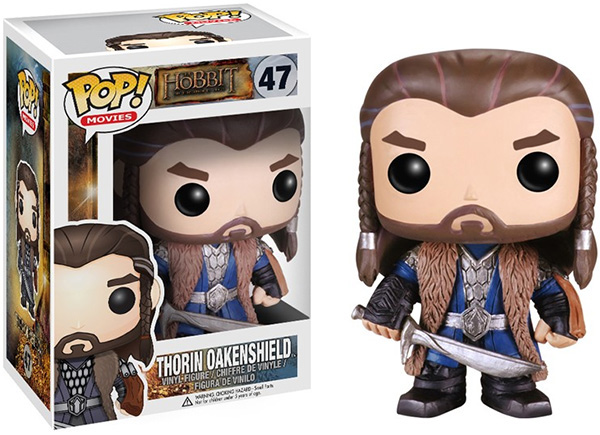 Funko Pop Movies Vinyl 47 The Hobbit Thorin Oakenshield Figure